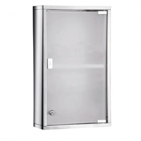 Gedy Tall Lockable Medicine Cabinet