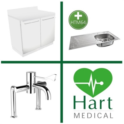 Hart HTM64 Medical Sink Station