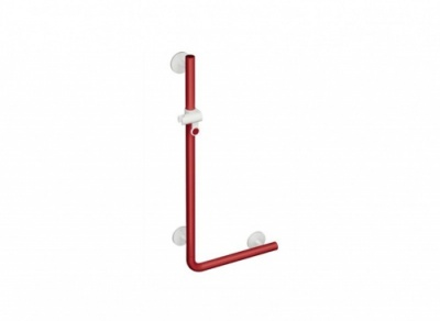 HEWI L-shaped Support Rail with Shower Head Holder