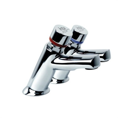 Inta-Flow Adjustable Flow Time Basin Taps