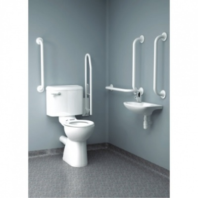 The IntaCare Doc M Toilet Pack - Close Coupled
