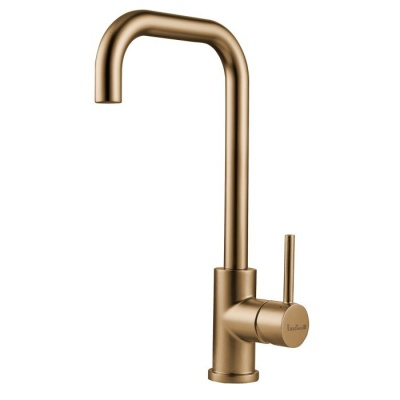 Crystal Kitchen Tap - Gold