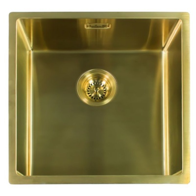 Miami Kitchen Sink 40 x 40 - Gold Finish