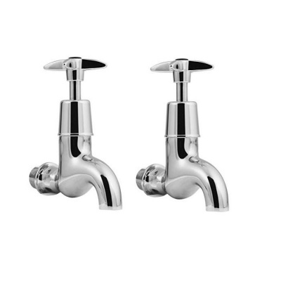 EISL Cross Handle Bib Taps - Pair