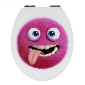 Fun Monster Toilet Seat - Soft Close Hinges