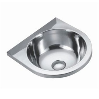 Euro Stainless Wall Mounted Wash Basin