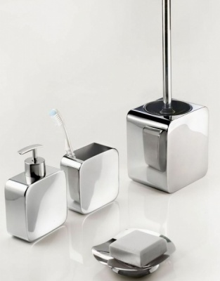 Polaris Freestanding Bathroom Accessory Set