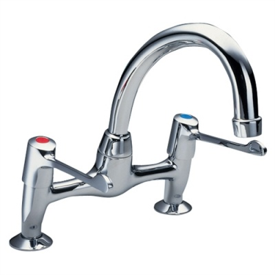 Performa Utility Swivel Spout Sink Mixer - Dualflow