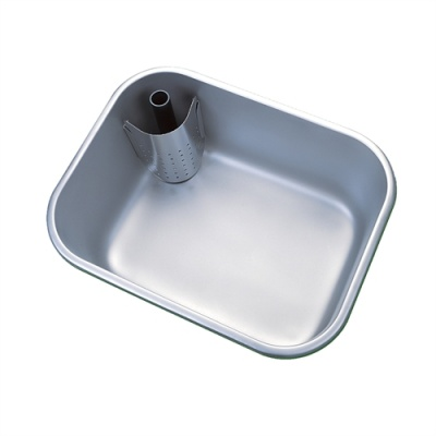 Pland Sanitary Bowl With Corner Upstand Waste