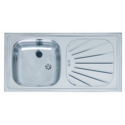 Reginox Alpha Value Single Bowl & Drainer Kitchen Sink