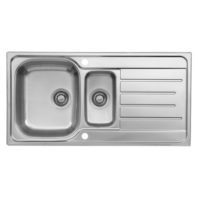 MC90 Essential Value 1.5 Bowl Sink & Drainer