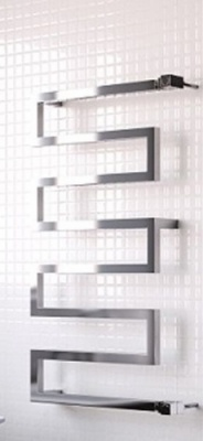 Serpentine Heated Towel Warmer 1010 x 500