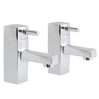 SQ Square Basin Taps