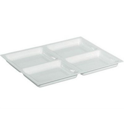 Shallow Dental Drawer Insert - 4 Compartment Tray