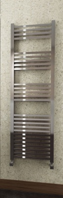 Square Bar Heated Towel Rail  - Extra Tall 1600 x 500