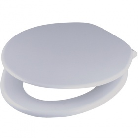 Tamar Coloured Toilet Seat - WHISPER GREY