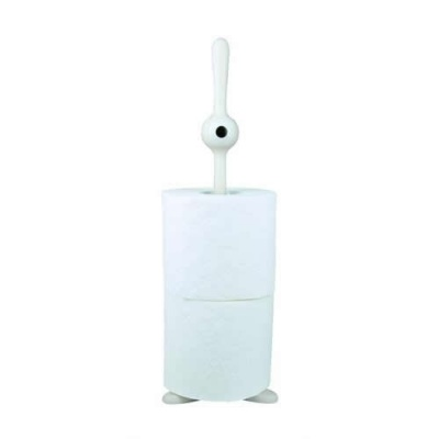Toq Cyclops Spare Toilet Roll Holder - White