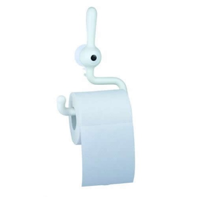 Toq 'Cyclops' Toilet Roll Holder - White
