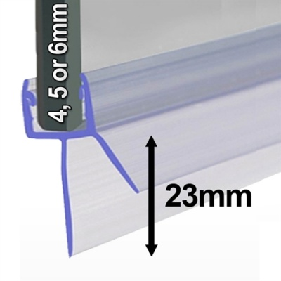 Universal Shower Screen Seal - Wider Gaps up to 23mm