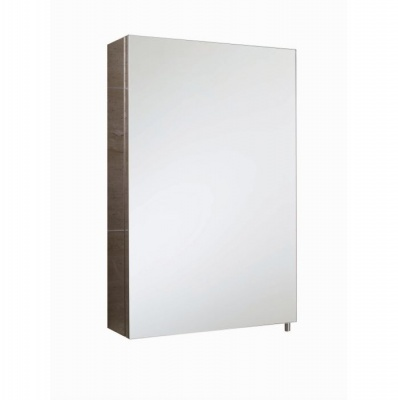 Cube Single Bathroom Cabinet with Mirrored Door
