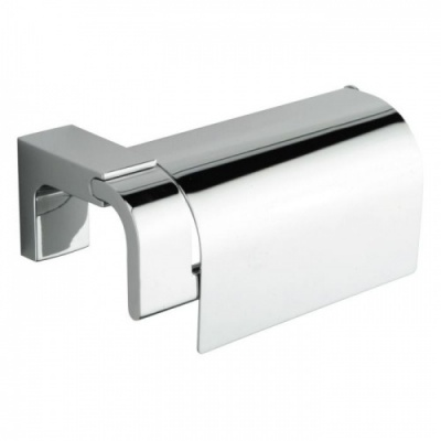 Eletech Toilet Roll Holder with Flap