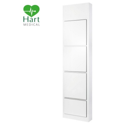 Hart Full Height Hospital IPS Panel - White