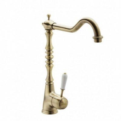 New Regent Single Lever Sink Mixer - Antique Bronze