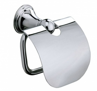 Genoa Toilet Roll Holder with Cover
