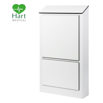 Hart Half Height Hospital IPS Panel - White