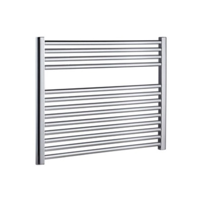 Horizontal  Chrome Heated Towel Rail - Extra Wide 600 x 1400
