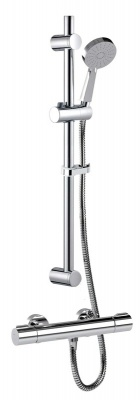 Puro Safetouch Thermostatic Bar Shower Kit