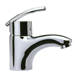 Elegant Jet Single Hole Bath Filler Taps
