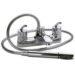 Contemporary Jet Bath Shower Mixer Taps