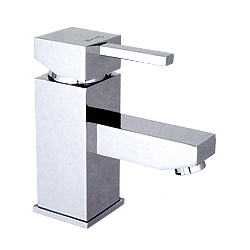 Kubix Square Small Monobasin Tap