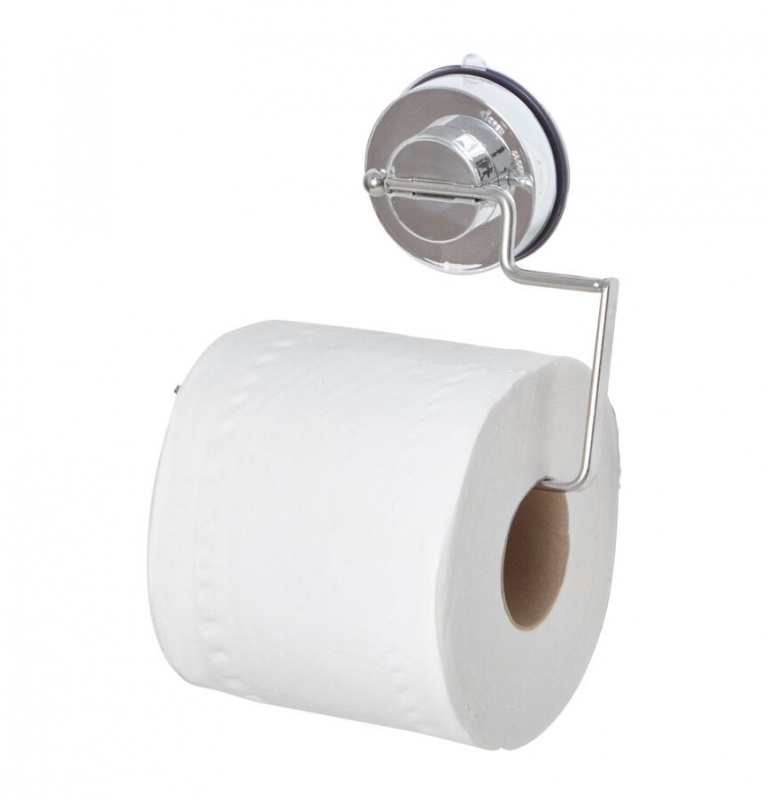 Gecko Quick Lock Suction Toilet Roll Holder