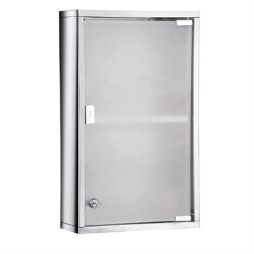 finest selection 55202 a6c6a Gedy Tall Lockable Medicine Cabinet