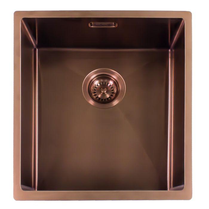 Miami Kitchen Sink 50 X 40 Copper Finish