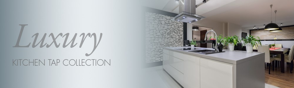 Luxury pull out spray kitchen taps