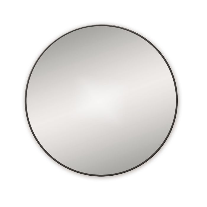 Docklands Round Black Bathroom Mirror Notjusttaps Co Uk