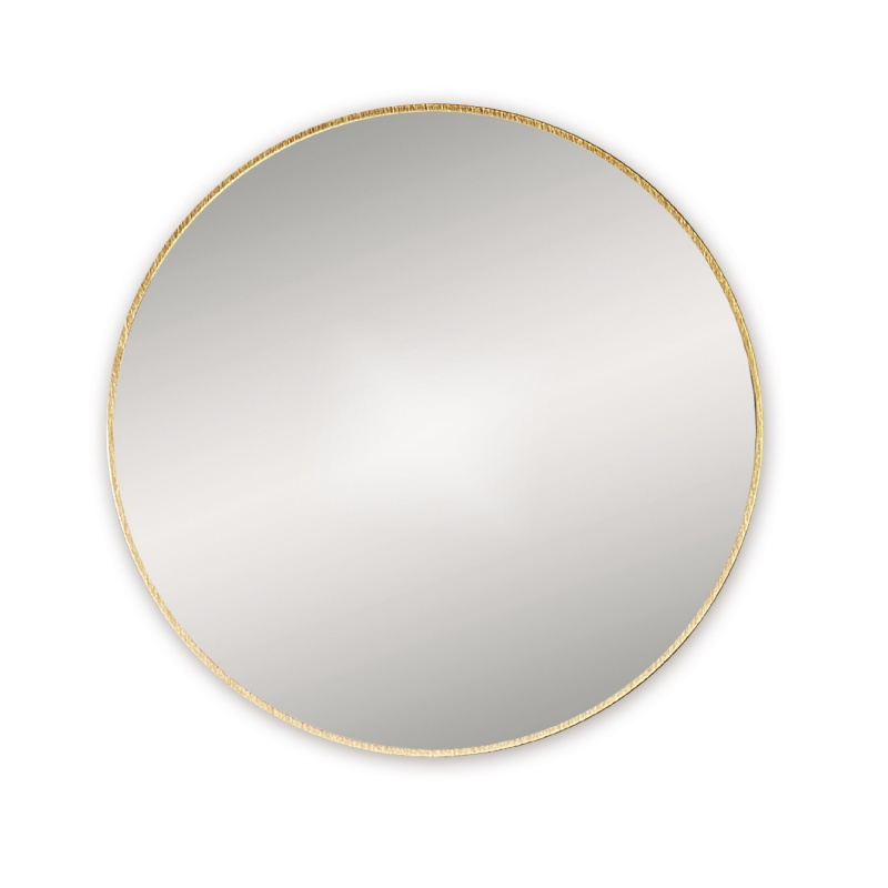 Docklands Round Brass Bathroom Mirror Notjusttaps Co Uk