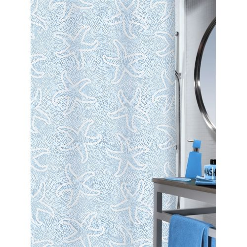 Starfish Shower Curtain By Spirella