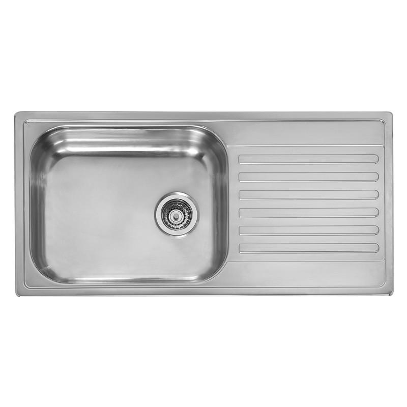 The M10 Extra Deep Bowl Kitchen Sink 200mm Deep Kitchen Sink Notjusttaps Co Uk