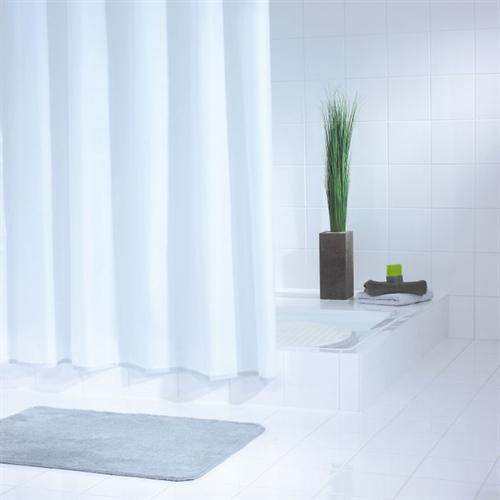 Essentials Narrow Shower Curtain 120cm