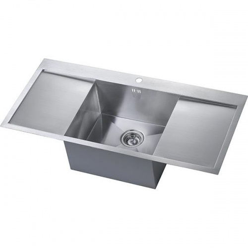 kitchen sink drainers uk zen uno drainer sink notjusttaps co uk 5766