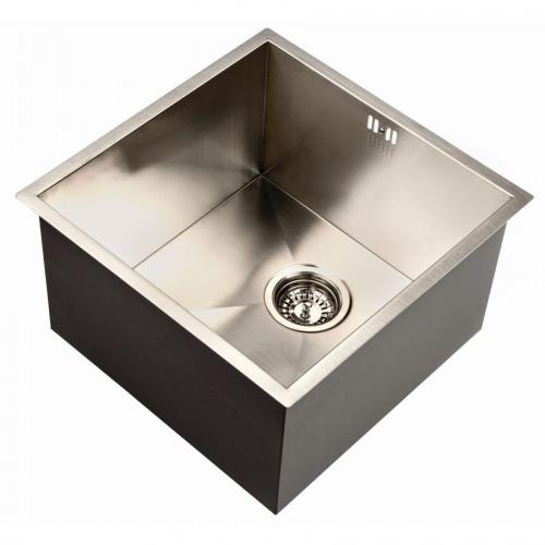 Zen Uno 400 Deep Kitchen Sink - Notjusttaps.co.uk