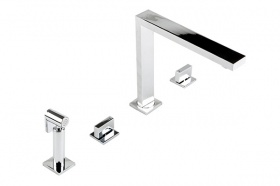 Nova Luxury 4 Hole Kitchen Mixer Tap