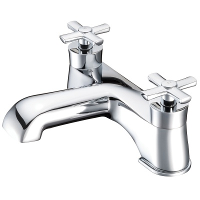 Neo Classica Cross Handle Bath Taps (Pair)