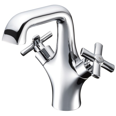 Neo Classica Cross Handle Monobloc Basin Mixer