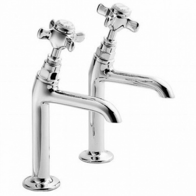 Pegler Sequel High Neck Sink Taps - Pair