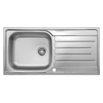 Daytona Reversible Kitchen Sink - 1000 x 500